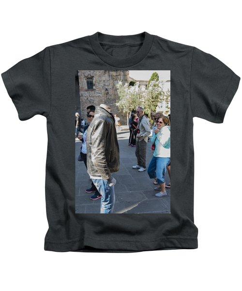 Headless In Barcelona - La Rambla - Barcelona Spain Kids T-Shirt