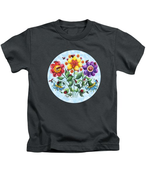 Ladybug Playground On A Summer Day Kids T-Shirt