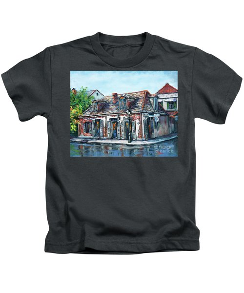 Lafitte's Blacksmith Shop Kids T-Shirt
