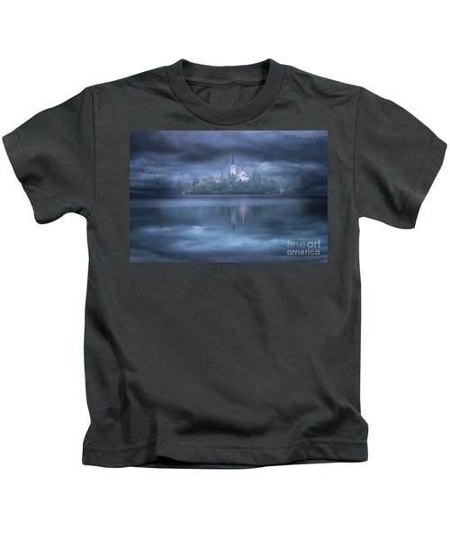 Lake Bled, Slovenia Kids T-Shirt