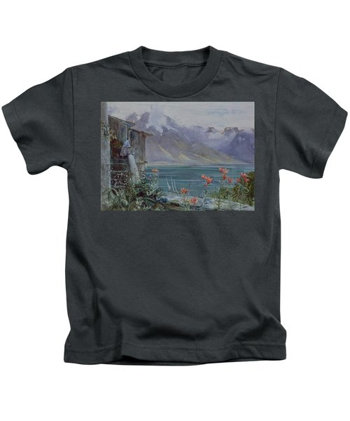Lake Geneva Kids T-Shirt