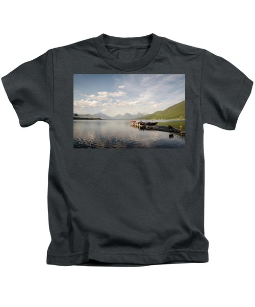 Lake Mcdonald Kids T-Shirt