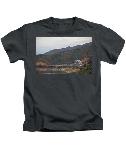 Lake Roosevelt Bridge 2 Kids T-Shirt