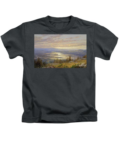 Lake Squam From Red Hill, 1874 Kids T-Shirt