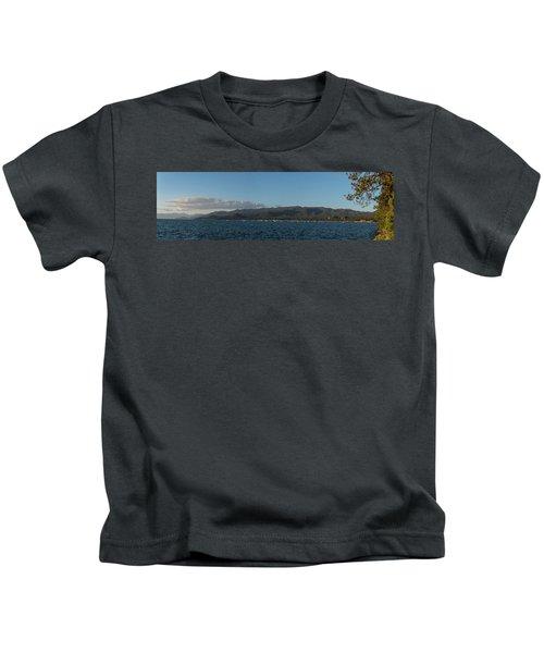 Lake Tahoe Panorama Kids T-Shirt