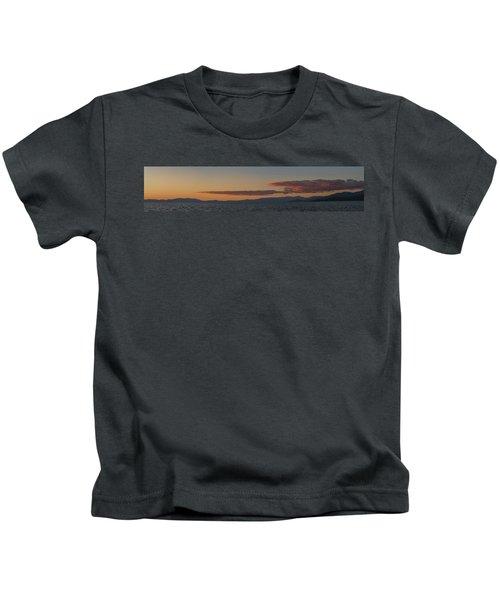 Lake Tahoe South Shore Panorama - 1 Kids T-Shirt