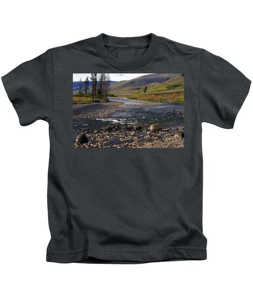 Lamar Valley 3 Kids T-Shirt
