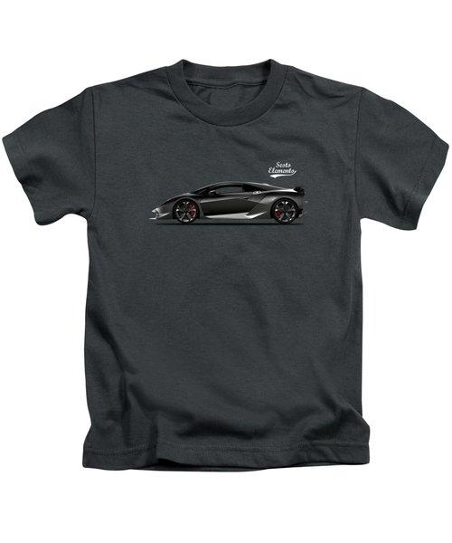 Lamborghini Sesto Elemento Kids T-Shirt