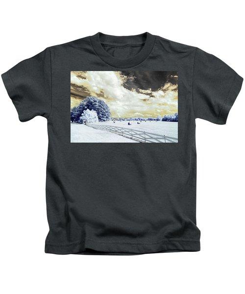 Lancaster Farm In Ir Kids T-Shirt