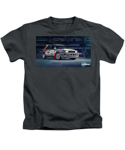 Lancia Delta Intergrale Kids T-Shirt
