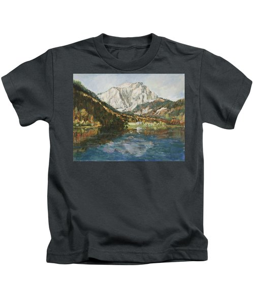 Langbathsee Austria Kids T-Shirt