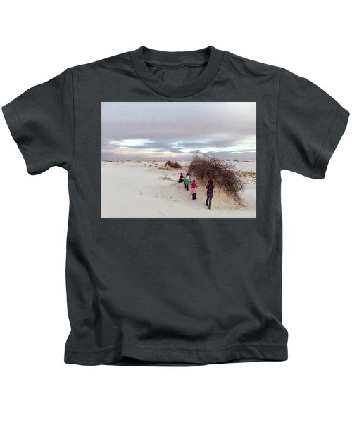 Exploring The Dunes Kids T-Shirt