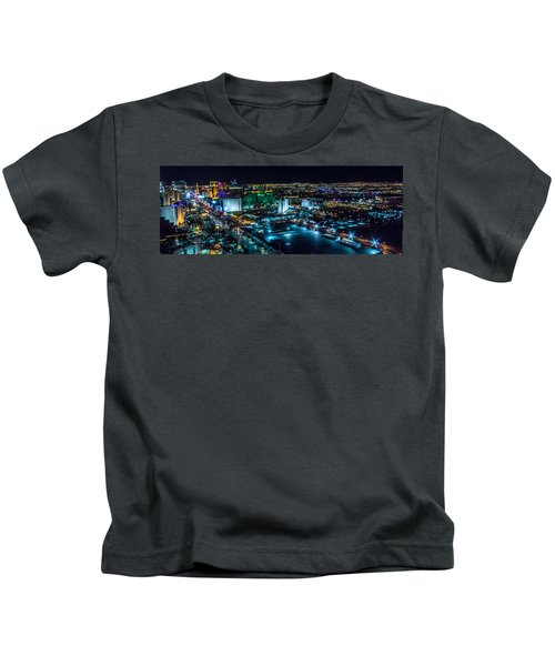 Las Vegas Looking North Kids T-Shirt