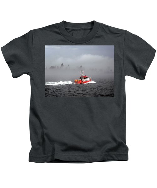Last Chance Off Calument Island Kids T-Shirt