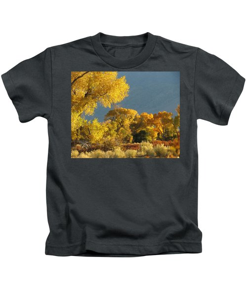 Last Light In Bishop 2 Kids T-Shirt