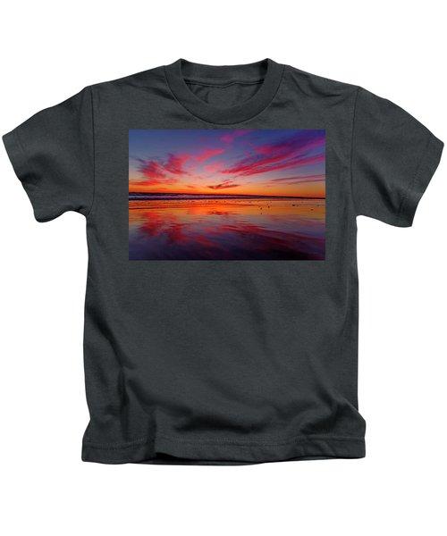 Last Light Topsail Beach Kids T-Shirt