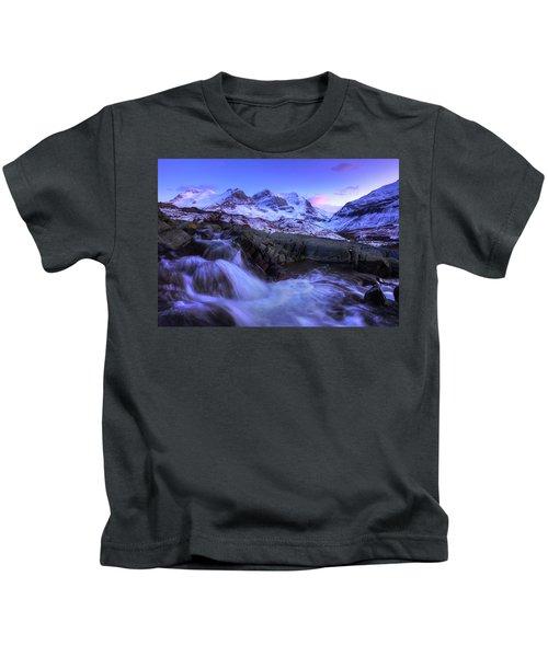 Last Rays On Andromeda Kids T-Shirt