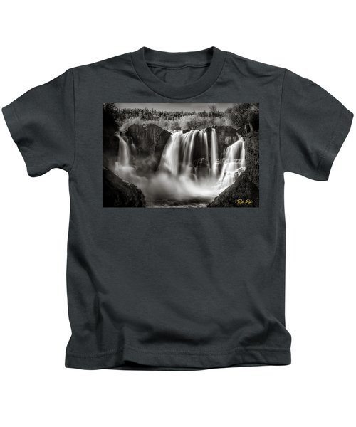 Late Afternoon At The High Falls Kids T-Shirt