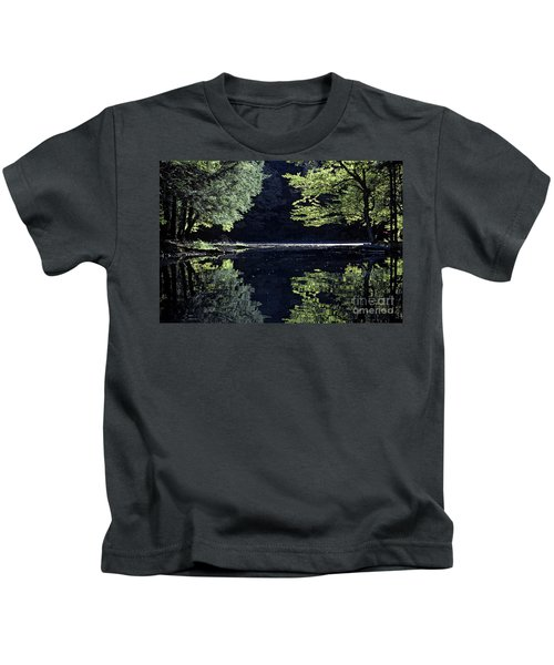 Late Afternoon Reflection Kids T-Shirt