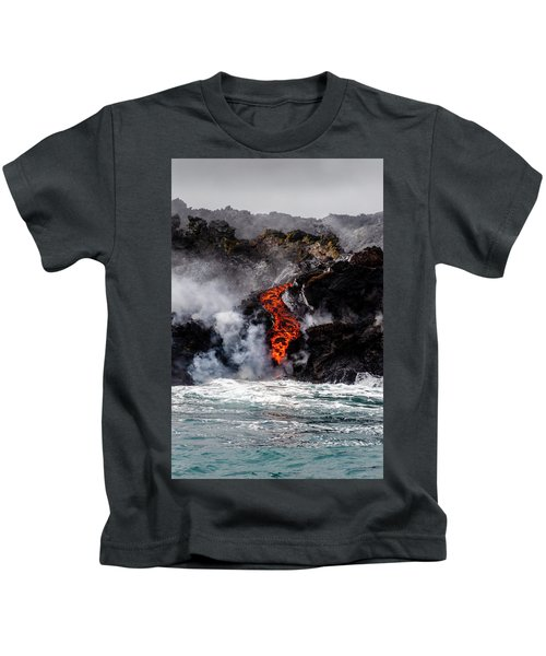 Lava Snake Kids T-Shirt