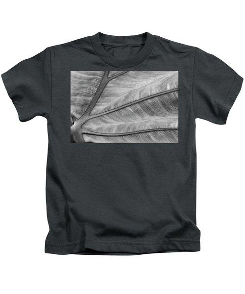 Leaf Abstraction Kids T-Shirt