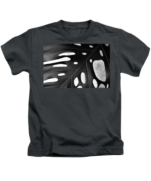 Leaf With Holes Kids T-Shirt
