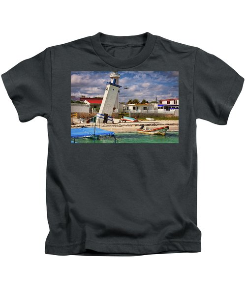 Leaning Lighthouse Kids T-Shirt