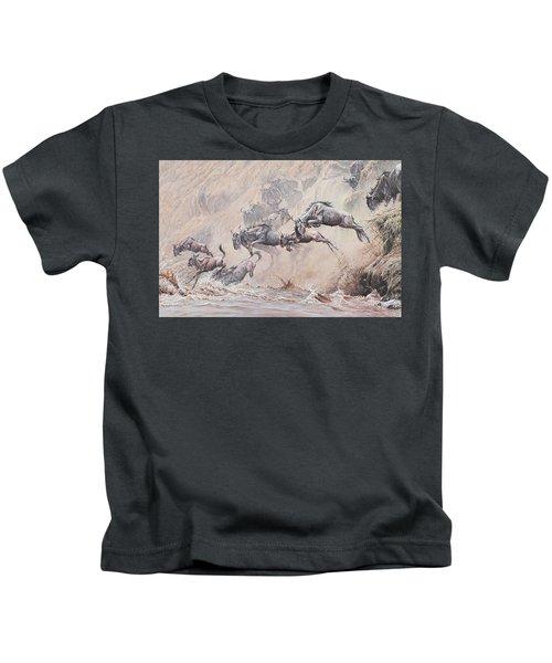 Leap Of Faith Kids T-Shirt