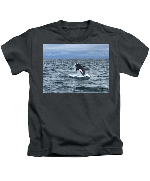Leaping Orca Kids T-Shirt