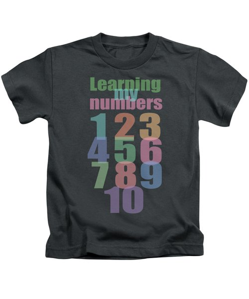 Learning To Count My Numbers To 10 Kids T-Shirt