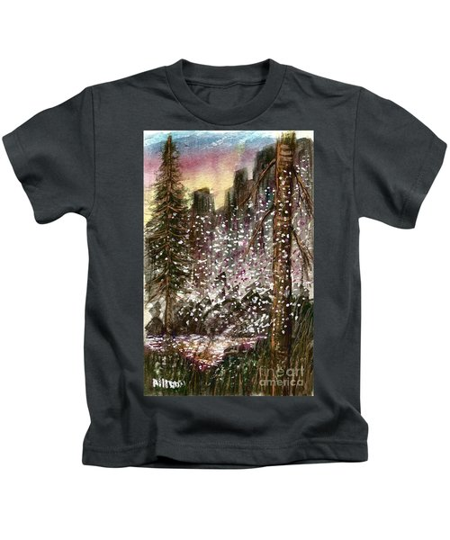 Leaves Of Change  Kids T-Shirt