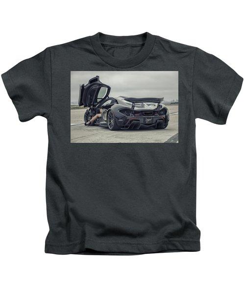 #mclaren #mso #p1 #wheels And #heels Kids T-Shirt