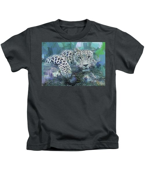 Leopard Abstract Kids T-Shirt