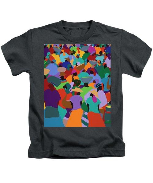 Les Palmes Market Haiti Kids T-Shirt