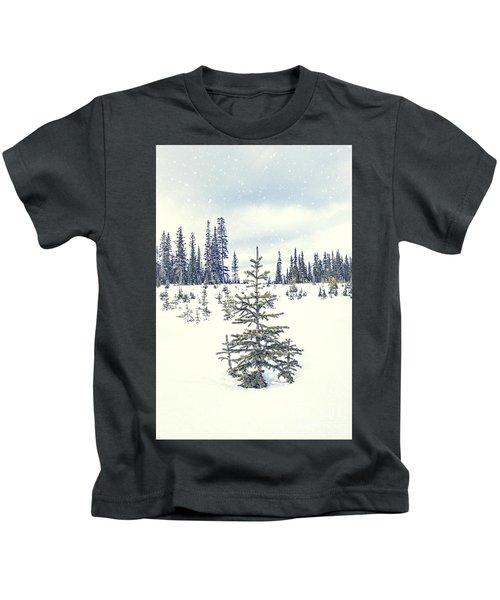 Let It Snow Kids T-Shirt