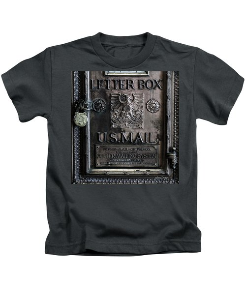 Letter Box Drop Kids T-Shirt