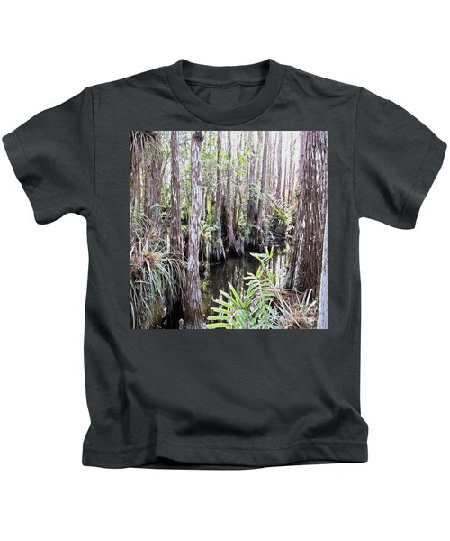 Letting Go Of Today Kids T-Shirt
