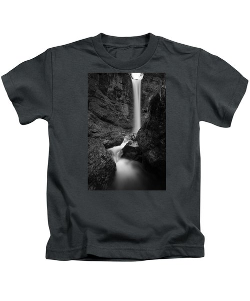 Leuenfall In Black And White Kids T-Shirt