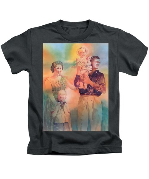 Life Was Good, Circa 1957 Kids T-Shirt