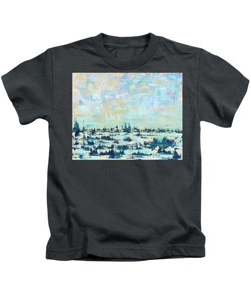 Light Over Broad Creek Kids T-Shirt