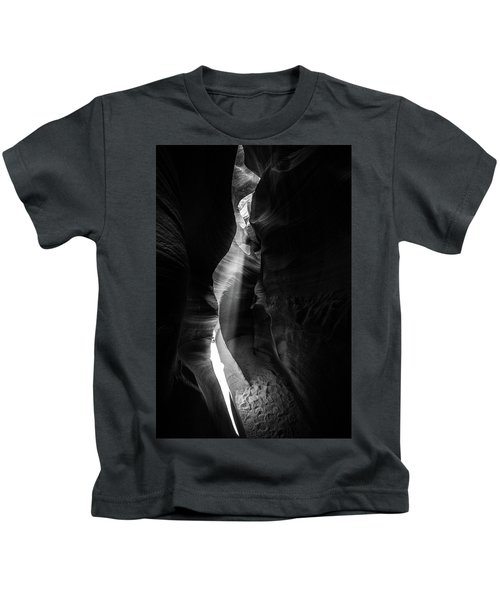 Light Shaft In Lower Antelope Canyon Kids T-Shirt