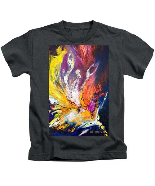 Like Fire In The Wind Kids T-Shirt