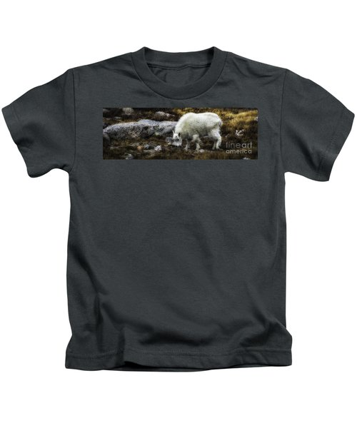 Lil' Kid Goat  Kids T-Shirt