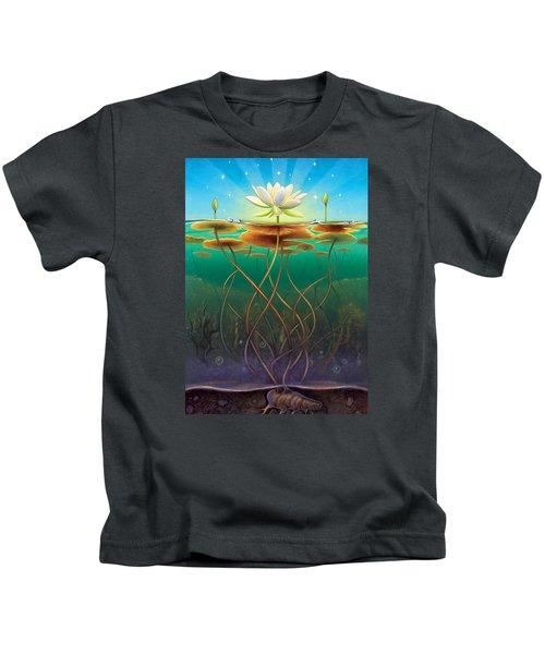 Water Lily - Transmute Kids T-Shirt