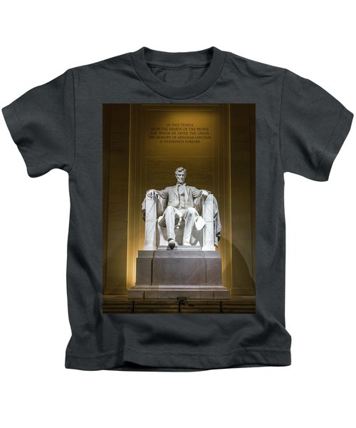 Lincoln Memorial Kids T-Shirt