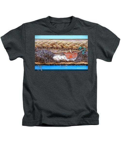 Line Of Debris Kids T-Shirt