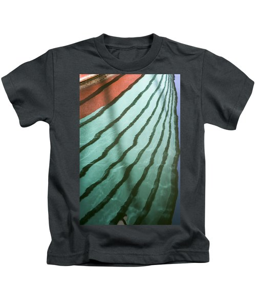 Lines On The Water Kids T-Shirt