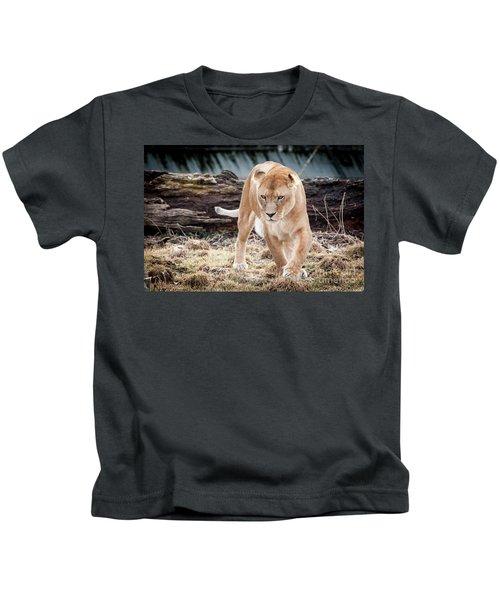 Lion Eyes Kids T-Shirt