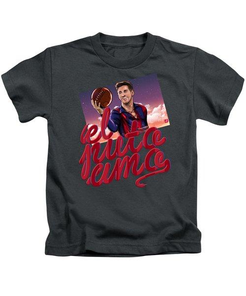 Lionel Elputoamo Kids T-Shirt by Akyanyme