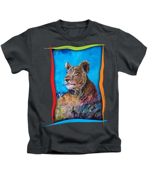 Lioness Pride Kids T-Shirt